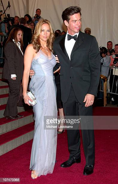 Jill Goodacre and Harry Connick Jr during AngloMania Costume Institute Gala at The Metropolitan Museum of Art Arrivals Celebrating AngloMania...