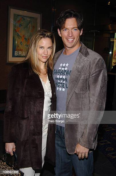 """Jill Goodacre and Harry Connick Jr. During """"Fat Actress"""" Showtime Network's New York City Premiere - Inside Arrivals at Clearview Chelsea West..."""