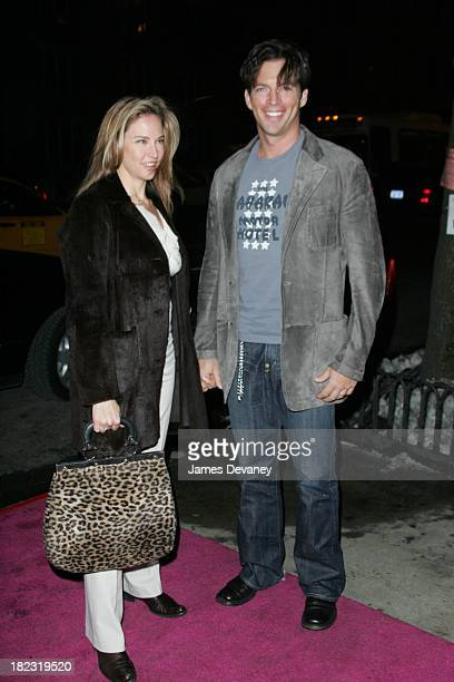 Jill Goodacre and Harry Connick Jr during Fat Actress Showtime Network's New York City Premiere Outside Arrivals at Clearview Chelsea West Cinemas in...