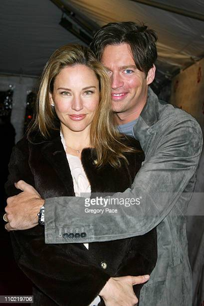 Jill Goodacre and Harry Connick Jr during Showtime's Fat Actress New York City Premiere Inside and Red Carpet Arrivals at Clearview Chelsea West in...