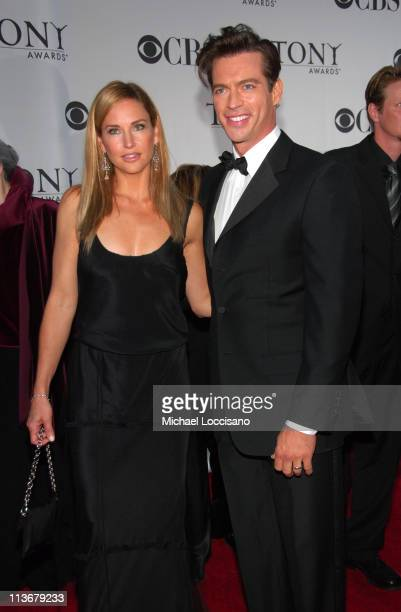 "Jill Goodacre and Harry Connick Jr nominee for Best Performance by a Leading Actor in a Musical for ""The Pajama Game"""