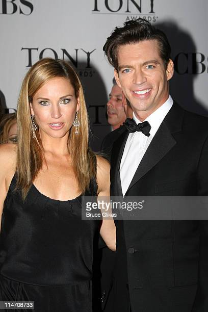 Jill Goodacre and Harry Connick Jr nominee for Best Performance by a Leading Actor in a Musical for The Pajama Game
