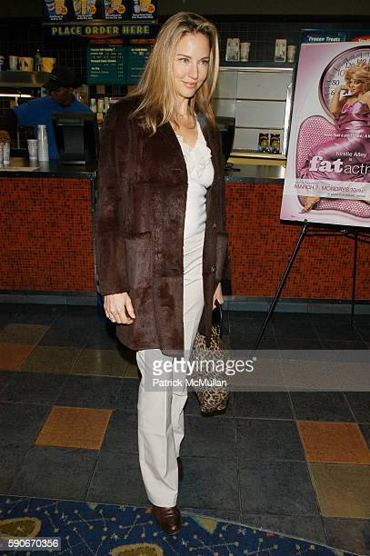 Jill Goodacre attends Showtime presents Fat Actress NY Screening and AfterParty Hosted by Kirstie Alley and Matt Blank at Clearview Chelsea West...