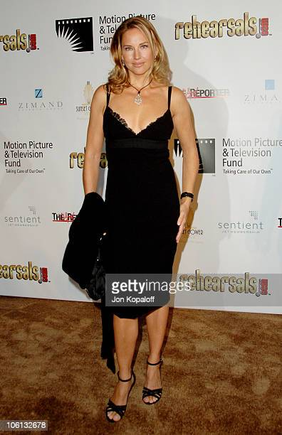 Jill Goodacre during A Fine Romance Gala Benefiting the Motion Picture and Television Fund Arrivals at Sunset Gower Studios in Hollywood California...