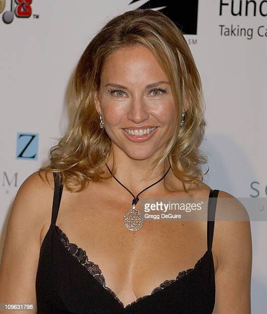 Jill Goodacre during A Fine Romance Gala Benefiting the Motion Picture Television Fund Arrivals at Sunset Gower Studios in Hollywood California...