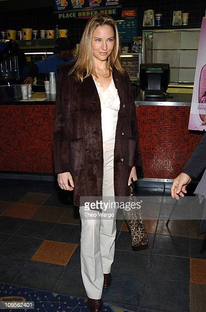 Jill Goodacre during Fat Actress Showtime Network's New York City Premiere Inside Arrivals at Clearview Chelsea West Cinemas in New York City New...