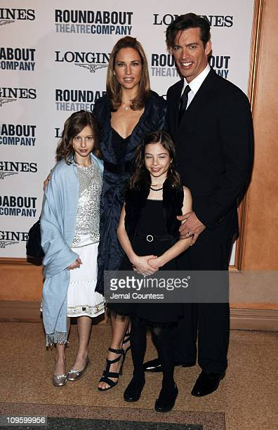 Jill Goodacre Harry Connick Jr and Connick children