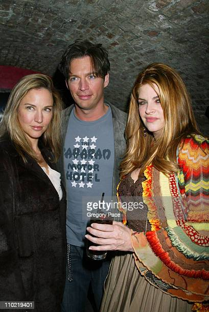Jill Goodacre Harry Connick Jr and Kirstie Alley