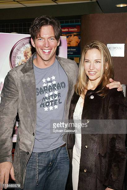 Jill Goodacre Harry Connick Jr during Showtime's NY premiere of Fat Actress at Clearview Chelsea West Cinema in New York New York United States