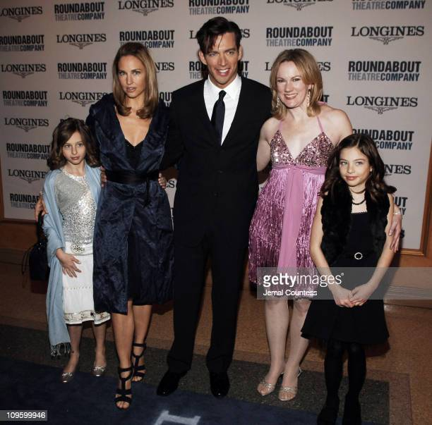 Jill Goodacre Harry Connick Jr Megan Lawrence and Connick children