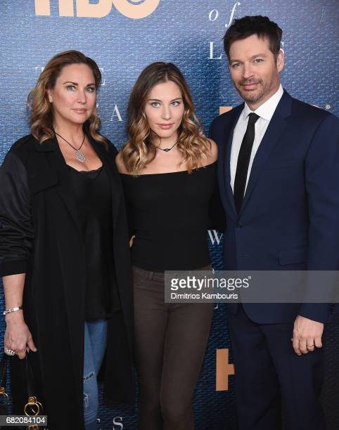 Jill Goodacre Sarah Kate Connick and Harry Connick Jr attend the The Wizard Of Lies New York Premiere at The Museum of Modern Art on May 11 2017 in...