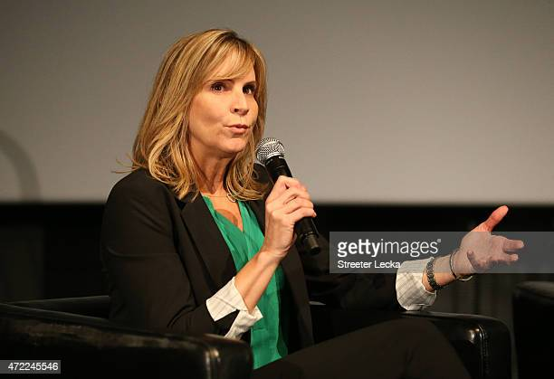 Jill Gregory NASCAR Senior Vice President of Industry sponsors speaks during the 20152016 NASCAR Next Class at NASCAR Hall of Fame on May 5 2015 in...