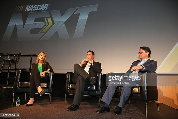 Jill Gregory NASCAR Senior Vice President of Industry sponsors Steve O'Donnell NASCAR Executive Vice President and Chief Racing Development Office...
