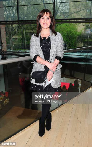 Jill Halfpenny arrives at the Northern Ballet's The Great Gatsby at the Sadler's Wells theatre in London