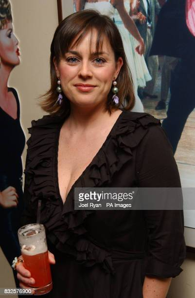 Jill halfpenny at the Rydell High Reunion Party to launch the special edition Grease DVD at the All Star lanes in central London