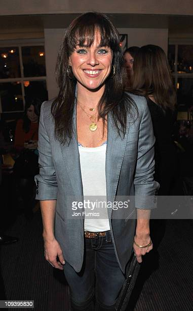 Jill Halfpenny attends the DVD launch of 'Loose Women in New York Loose In The City' at Century on November 4 2010 in London England