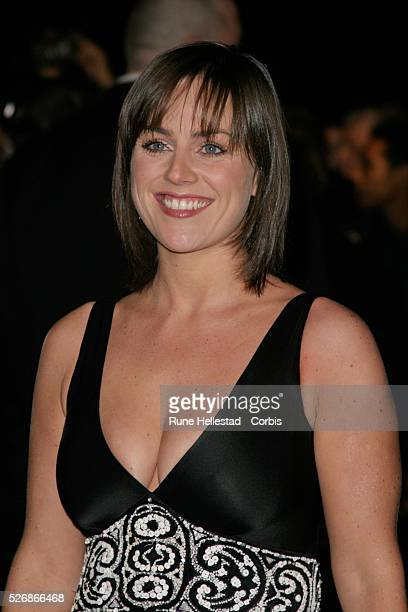 Jill Halfpenny attends The National TV Awards at the Royal Albert Hall London