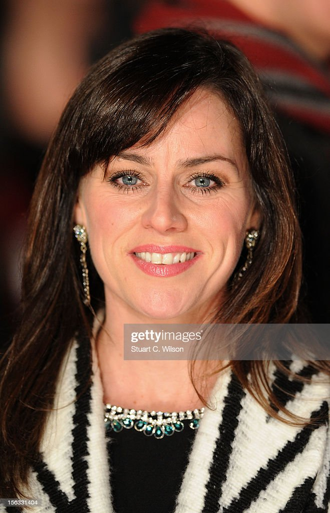 Jill Halfpenny attends the 'Nativity 2: Danger In The Manger' premiere at Empire Leicester Square on November 13, 2012 in London, England.