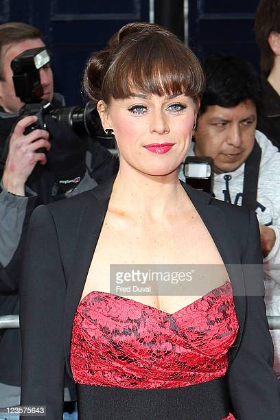 Jill Halfpenny attends the Olivier Awards at Theatre Royal on March 13 2011 in London England