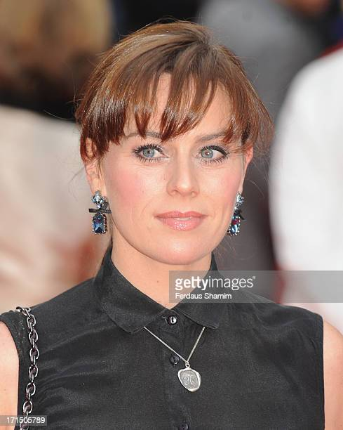 Jill Halfpenny attends the press night for 'Charlie and the Chocolate Factory' at Theatre Royal on June 25 2013 in London England