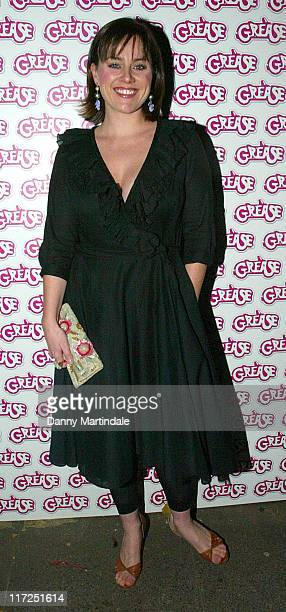 Jill Halfpenny during Grease DVD Launch Party Arrivals at All Star Lanes in London Great Britain
