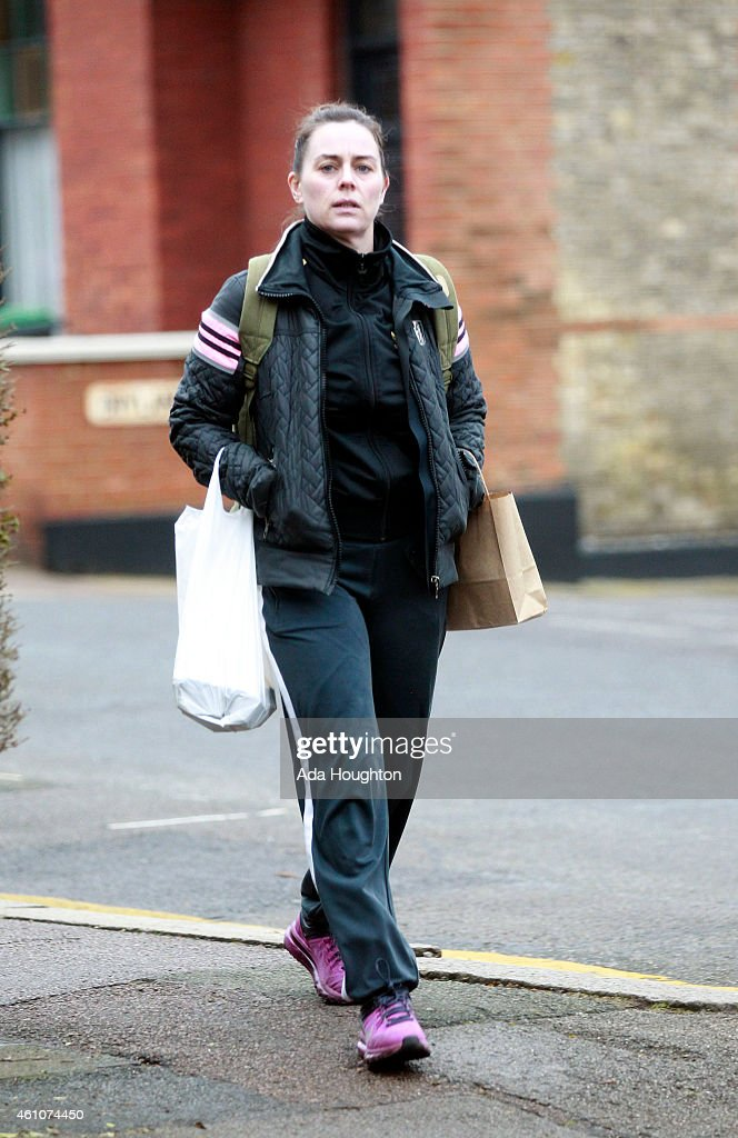 London Celebrity Sightings -  January 5, 2015