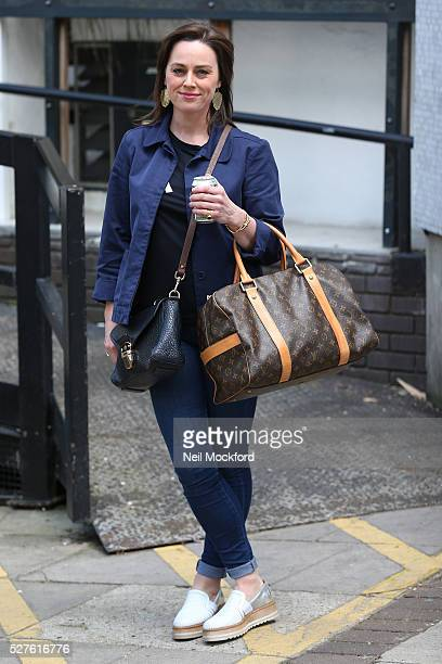 Jill Halfpenny seen at The ITV Studios on May 03 2016 in London England
