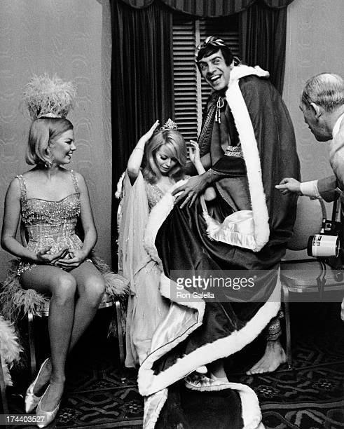 Jill Haworth and Jerry Orbach attend Artists and Models Ball on November 17 1967 at the Biltmore Hotel in New York City