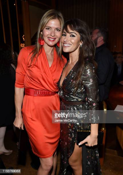 Jill Hennessy and Sarah Shahi attend Showtime's City On A Hill New York Premiere After Party at The Top of The Standard on June 04 2019 in New York...