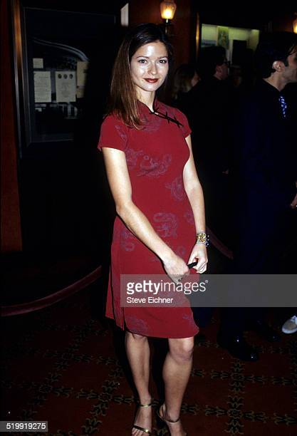 Jill Hennessy at premiere of 'Notting Hill' New York May 13 1999