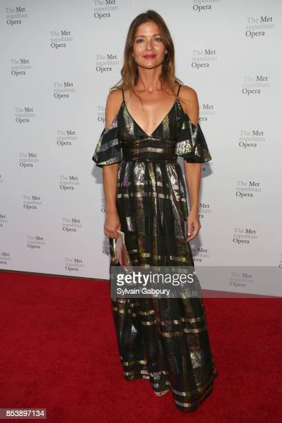 Jill Hennessy attends Metropolitan Opera Opening Night Gala at Lincoln Center on September 25 2017 in New York City