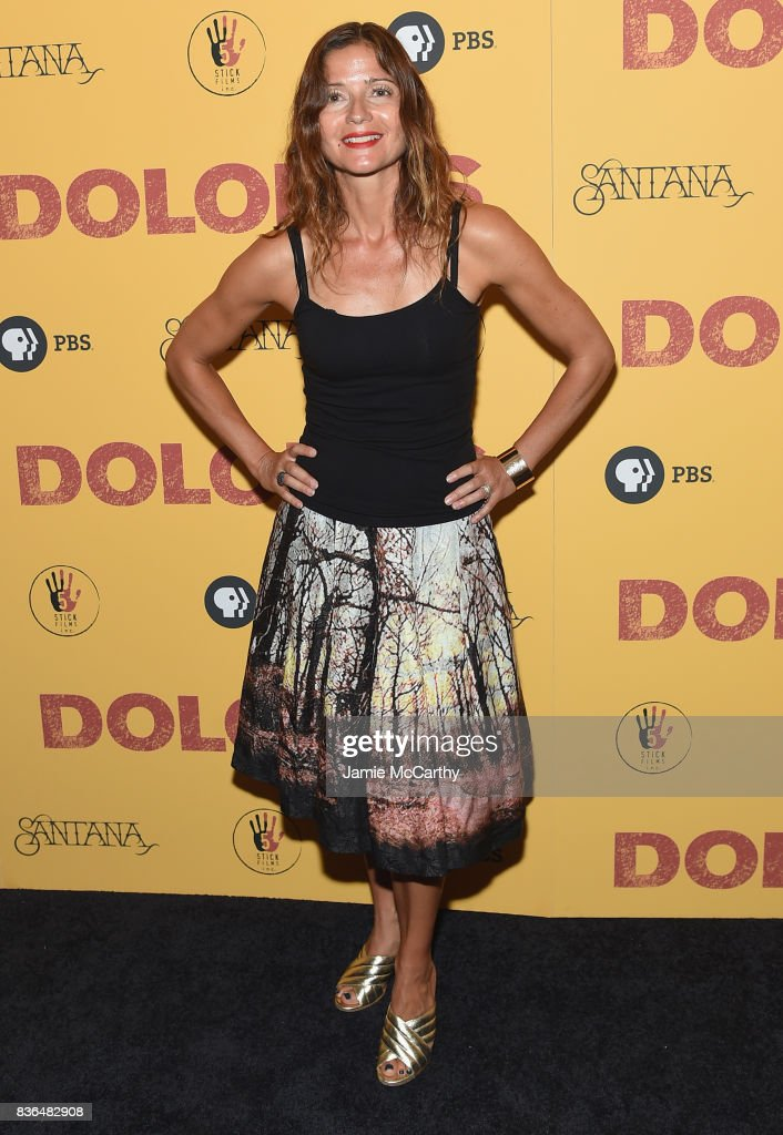 Jill Hennessy attends the 'Dolores' New York Premiere at The Metrograph on August 21, 2017 in New York City.