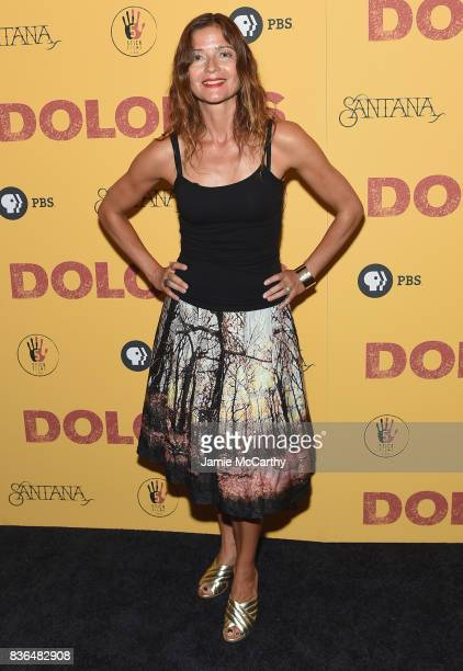 Jill Hennessy attends the 'Dolores' New York Premiere at The Metrograph on August 21 2017 in New York City