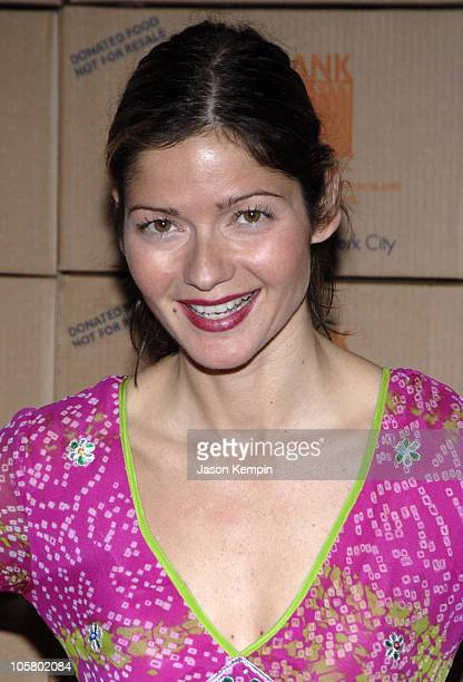 Jill Hennessy during 2006 Food Bank For New York Citys Annual Can Do Awards Gala at Pier Sixty Chelsea Piers in New York City New York United States