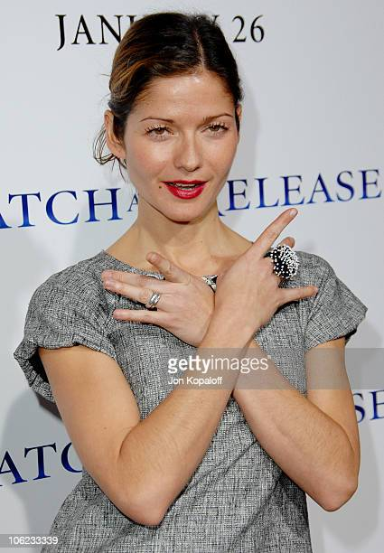 Jill Hennessy during Catch And Release Los Angeles Premiere Arrivals at Egyptian Theater in Hollywood California United States