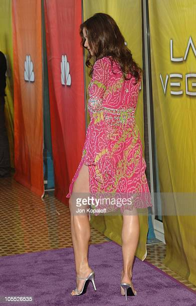 Jill Hennessy during Las Vegas TCA Cocktail Party Arrivals at The Beverly Hilton Hotel in Beverly Hills California United States