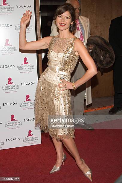 Jill Hennessy during Minnie Driver Celebrates The Escada 2006 Fall/Winter Collection Benefiting The St Jude Research Hospital at The Pink Elephant in...