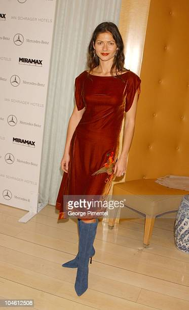 Jill Hennessy during Miramax PreOscar Party Arrivals at Mondrian Hotel in West Hollywood California United States