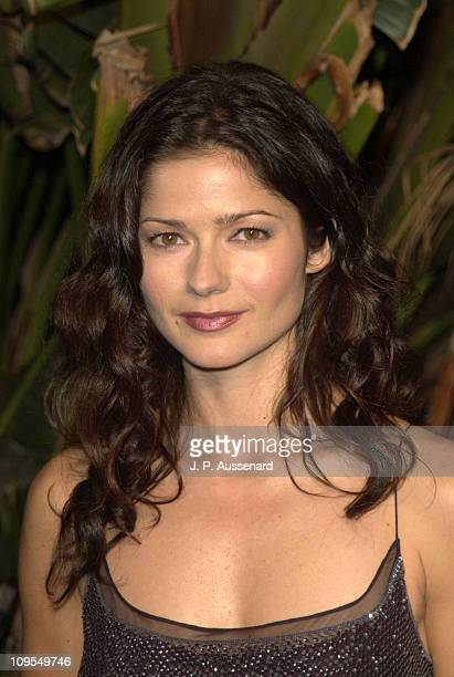 Jill Hennessy during NBC 75th Anniversary AllStar Reception at The Garden of Eden in Hollywood California United States