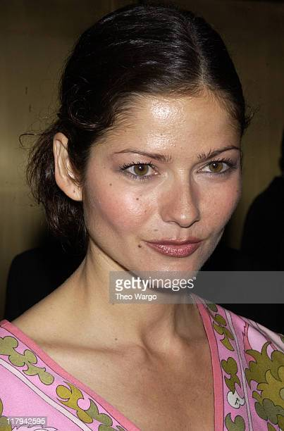 Jill Hennessy during NBC Introduces Five New Series as Part of NBC's 200203 Schedule at Radio City Music Hall in New York City New York United States