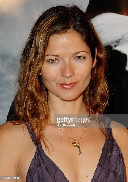 Jill Hennessy during Shooter Los Angeles Premiere Arrivals at Mann Village Theatre in Westwood California United States