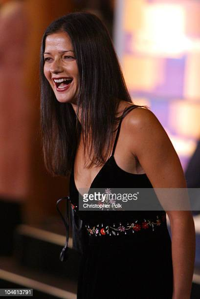 Jill Hennessy during Special Screening of MGM's Die Another Day at The Shrine Auditorium in Hollywood CA United States