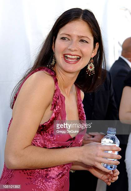Jill Hennessy during The 18th Annual IFP Independent Spirit Awards Backstage at Santa Monica Beach in Santa Monica California United States