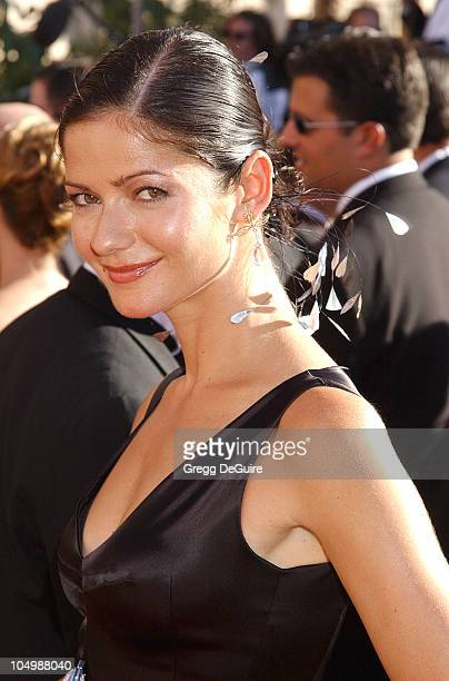 Jill Hennessy during The 54th Annual Primetime Emmy Awards Arrivals at The Shrine Auditorium in Los Angeles California United States