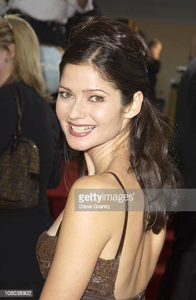 Jill Hennessy during The 60th Annual Golden Globe Awards Arrivals at The Beverly Hilton Hotel in Beverly Hills California United States