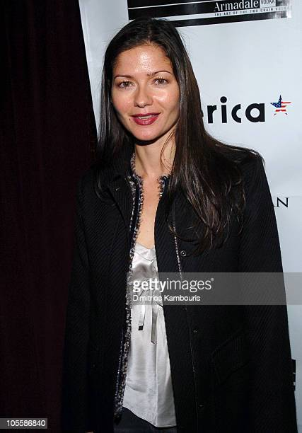 Jill Hennessy during The Woodsman New York City Premiere After Party at NA in New York City New York United States