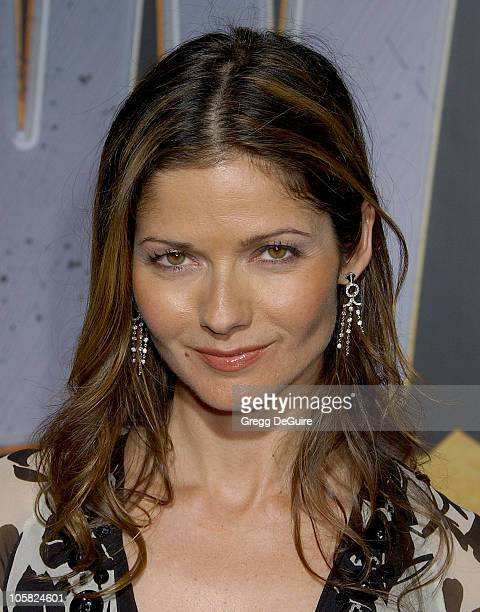 Jill Hennessy during Wild Hogs Los Angeles Premiere Arrivals at El Capitan Theater in Hollywood California United States