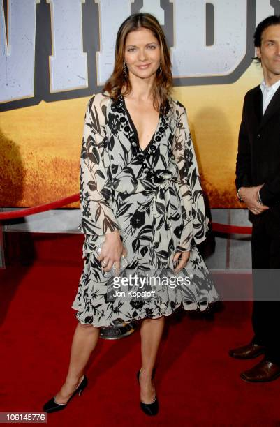 Jill Hennessy during 'Wild Hogs' Los Angeles Premiere Arrivals at El Capitan Theater in Hollywood California United States