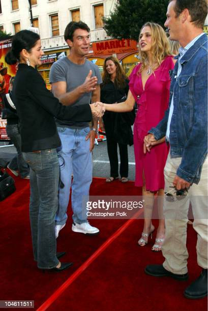 Jill Hennessy Jerry O'Connell Estella Warren and Peter Berg