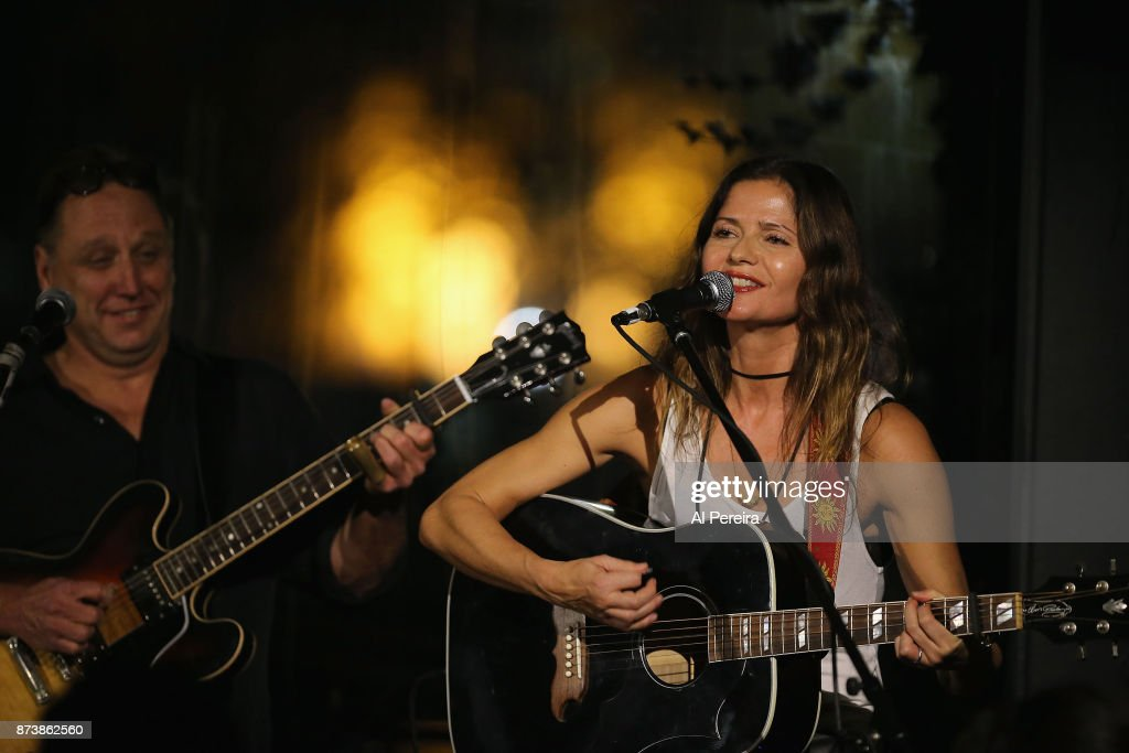 Jill Hennessy performs at City Vinyard on November 13, 2017 in New York City.
